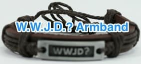 Christliches WWJD Armband