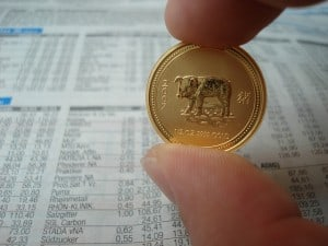 Goldmünze oder besser echten Goldbarren zur Kommunion?