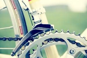 Ein Fahrrad zur Kommunion für das Kommunionkind