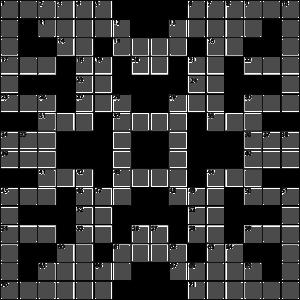 Personalisierte Kreuzworträtsel - hier ohne Fragen